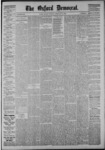 The Oxford Democrat: Vol. 53, No. 9 - March 02,1886