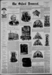 The Oxford Democrat: Vol. 53, No. 18 - May 04,1886