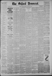 The Oxford Democrat: Vol. 54, No. 13 - March 29,1887