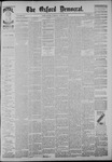 The Oxford Democrat: Vol. 54, No. 17 - April 26,1887