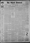 The Oxford Democrat: Vol. 54, No. 21 - May 24,1887
