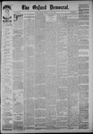 The Oxford Democrat: Vol. 54, No. 27 - July 05,1887