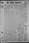The Oxford Democrat: Vol. 54, No. 41 - October 11,1887
