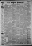 The Oxford Democrat: Vol. 54, No. 45 - November 08,1887