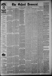 The Oxford Democrat: Vol. 54, No. 48 - November 29,1887
