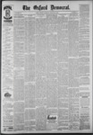 The Oxford Democrat: Vol. 55, No. 12 - March 20,1888
