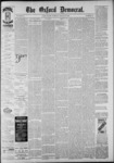 The Oxford Democrat: Vol. 55, No. 13 - March 27,1888