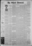 The Oxford Democrat: Vol. 55, No. 19 - May 08,1888