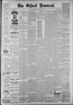 The Oxford Democrat: Vol. 55, No. 20 - May 15,1888