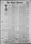 The Oxford Democrat: Vol. 55, No. 22 - May 29,1888