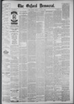 The Oxford Democrat: Vol. 55, No. 32 - August 07,1888