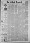 The Oxford Democrat: Vol. 55, No. 35 - August 28,1888
