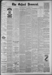 The Oxford Democrat: Vol. 55, No. 41 - October 09,1888