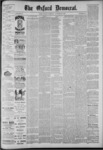 The Oxford Democrat: Vol. 55, No. 43 - October 23,1888