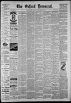 The Oxford Democrat: Vol. 55, No. 52 - - December 25,1888
