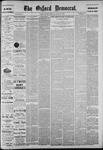 The Oxford Democrat: Vol. 56, No. 18 - April 30,1889