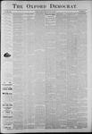 The Oxford Democrat: Vol. 56, No. 19 - May 07,1889