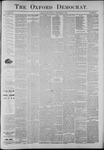 The Oxford Democrat: Vol. 56, No. 36 - September 03,1889