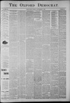 The Oxford Democrat: Vol. 56, No. 38 - September 17,1889