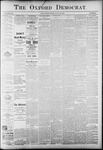 The Oxford Democrat: Vol. 58. No. 21 - May 26,1891