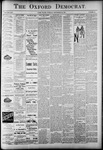 The Oxford Democrat: Vol. 58. No. 38 - September 22,1891