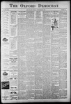 The Oxford Democrat: Vol. 58. No. 39 - September 29,1891