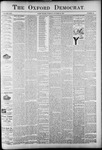 The Oxford Democrat: Vol. 58. No. 41 - October 13,1891