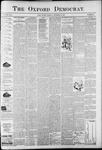 The Oxford Democrat: Vol. 58. No. 50 - December 15,1891