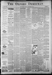 The Oxford Democrat: Vol. 58. No. 52 - December 29,1891