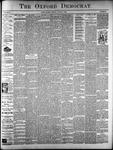 The Oxford Democrat: Vol. 61. No. 31 - August 01,1893