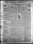 The Oxford Democrat: Vol. 61. No. 32 - August 08,1893