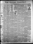 The Oxford Democrat: Vol. 61. No. 33 - August 15,1893