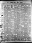 The Oxford Democrat: Vol. 61. No. 44 - October 31,1893
