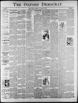 The Oxford Democrat: Vol. 61, No. 5 - January 30,1894