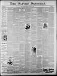 The Oxford Democrat: Vol. 62, No. 1 - January 01, 1895