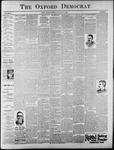 The Oxford Democrat: Vol. 62, No. 3 - January 15, 1895