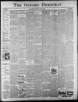The Oxford Democrat: Vol. 62, No. 15 - April 09, 1895