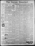 The Oxford Democrat: Vol. 62, No. 19 - May 07, 1895