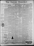 The Oxford Democrat: Vol. 62, No. 23 - June 04, 1895