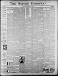 The Oxford Democrat: Vol. 62, No. 28 - July 09, 1895
