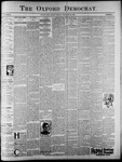 The Oxford Democrat: Vol. 62, No. 52 - December 24, 1895