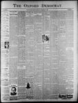 The Oxford Democrat: Vol. 62, No. 53 - December 31, 1895