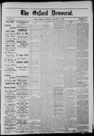 The Oxford Democrat: Vol. 50, No. 52 - January 01,1884