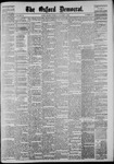 The Oxford Democrat: Vol. 51, No. 40 - October 07,1884