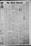 The Oxford Democrat: Vol. 52, No. 28 - July 14,1885