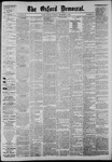 The Oxford Democrat: Vol. 52, No. 48 - December 01,1885