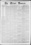 The Oxford Democrat: Vol. 11 -, No. 30 - August 24,1860