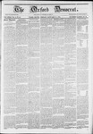 The Oxford Democrat: Vol. 11 -, No. 52 - January 25,1861