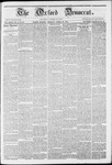 The Oxford Democrat: Vol. 12 -, No. 13 - April 26,1861