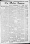 The Oxford Democrat: Vol. 13, No.44 - November 28,1862